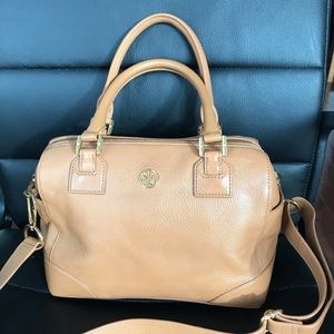 Tory Burch Camel Satchel (Used)